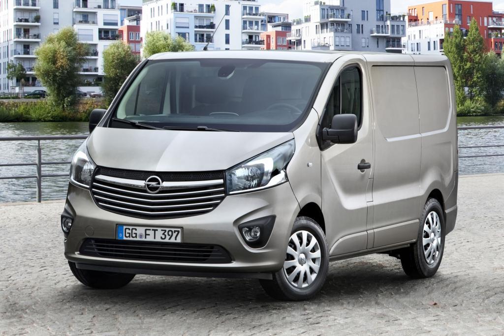 Der Opel Vivaro kommt im Sommer zunächst als Kastenwagen
