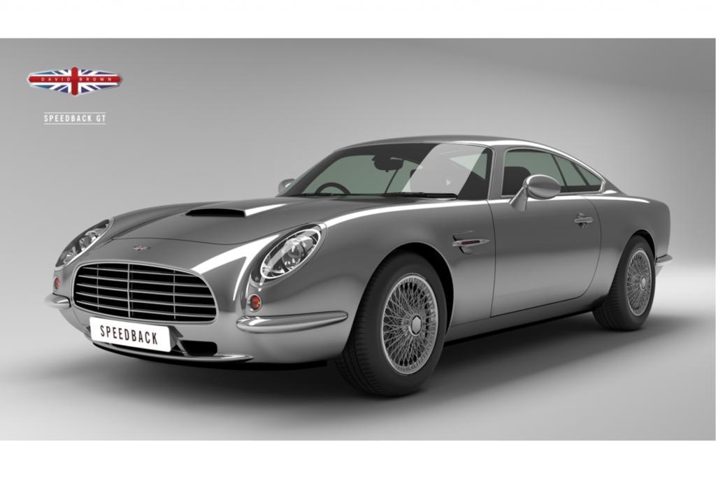 Der Speedback könnte als moderner Nachfolger der Aston Martin DB5 durchgehen Foto: © David Brown Automotive