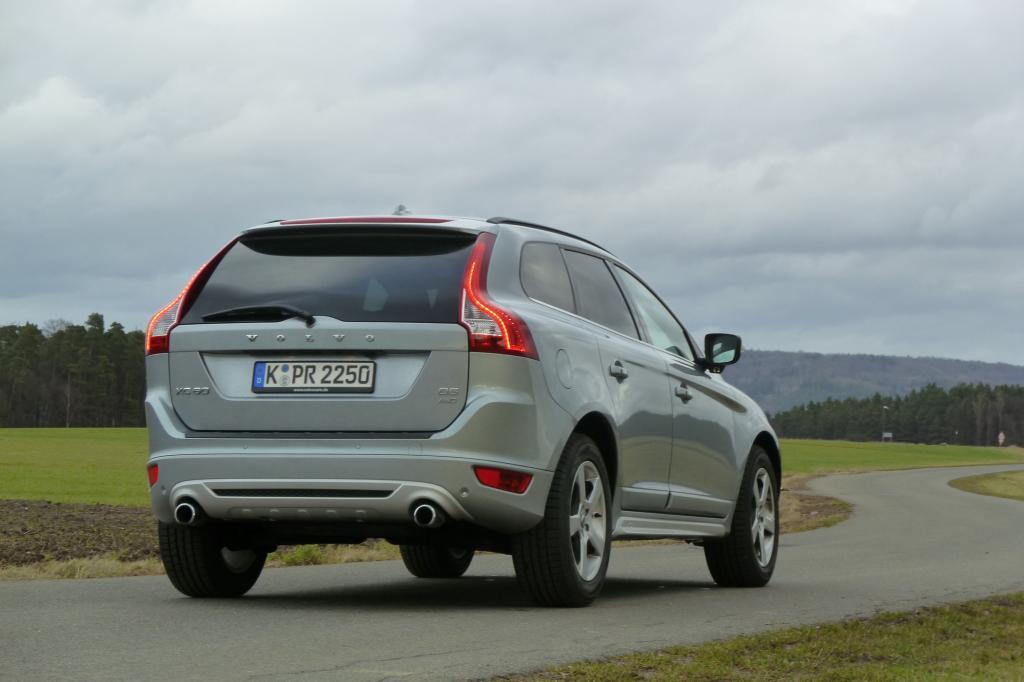 Der Volvo bietet viel Platz für Insassen und Gepäck