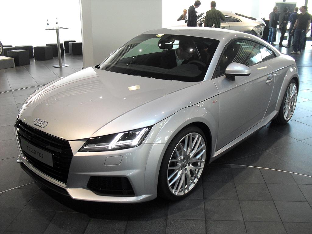 Der neue Audi TT, hier die S-Line-Version des Sportcoupés.