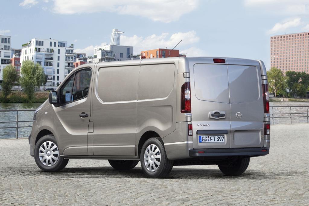 Die Motoren übernimmt Opel vom Schwestermodell Renault Trafic