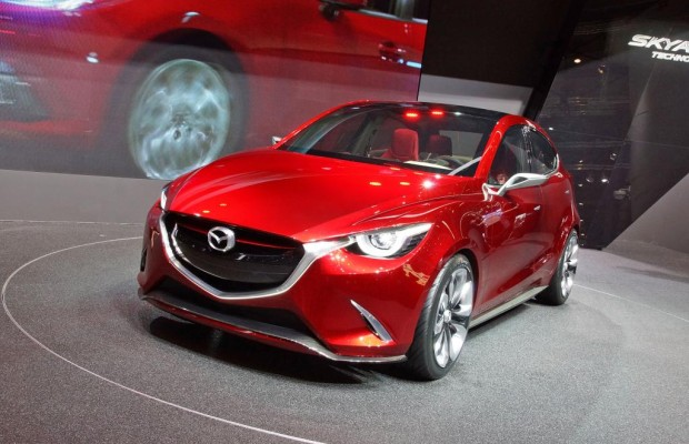 Die Studie Hazumi gibt einen recht konkreten Ausblick auf den Mazda2