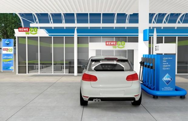 Die Tankstelle - für den schnellen Einkauf