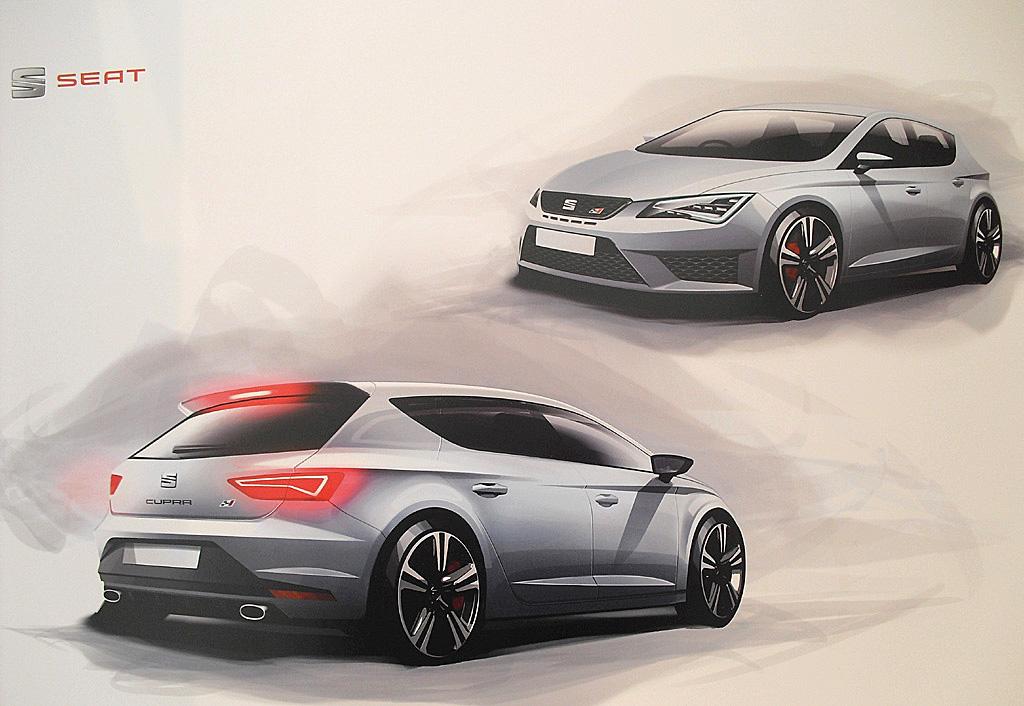 Diese Cupra-Zeichnungen zeigen die Leidenschaft für Design bei Seat.