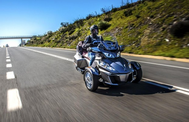 Dreirad-Roadster Can-Am Spyder - Wenn aller guten Dinge drei sind