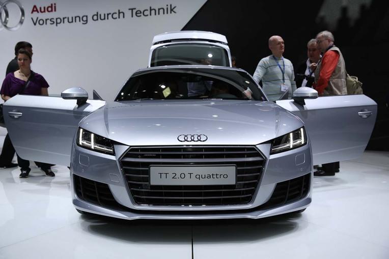 Dritte Generation: Audi-Coupé TT.