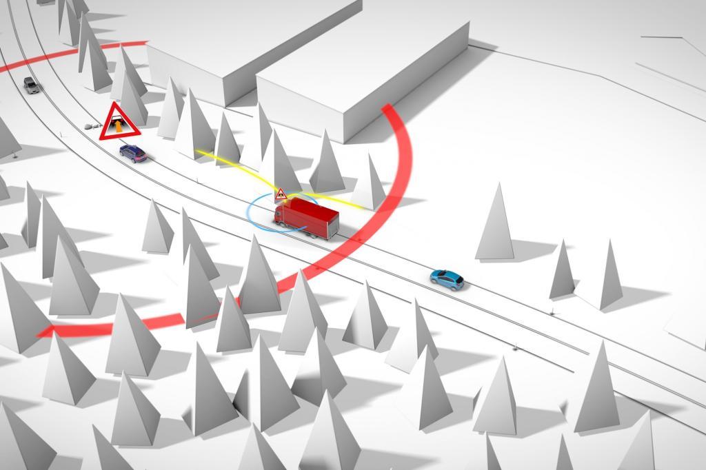 Durch Vernetzung soll die Verkehrssicherheit steigen