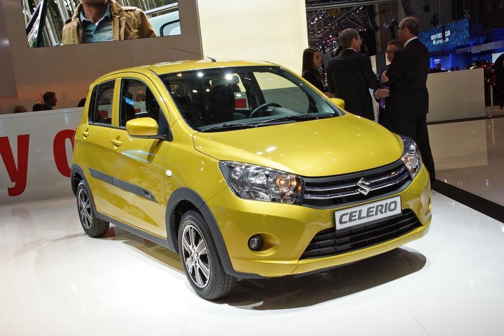 Ebenfalls ausschließlich als Fünftürer tritt ab Herbst der neue Suzuki Celerio an.