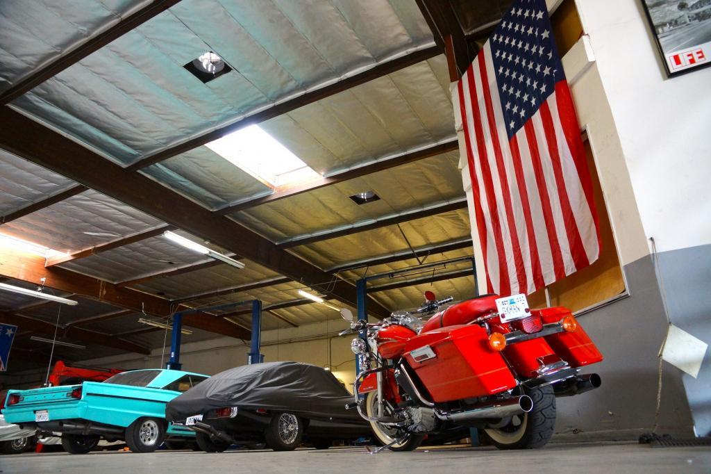 Ein rund 500 Quadratmeter großes Warehouse ist Borrmanns aktuelles Domizil in Los Angeles.