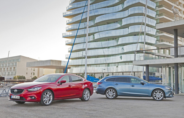 Erneut fünf Sterne für den Mazda6