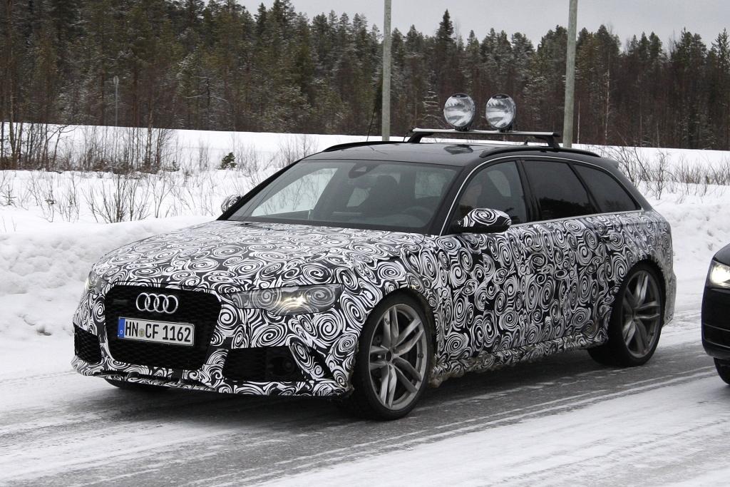 Erwischt: Audi A6 + RS 6 Facelift
