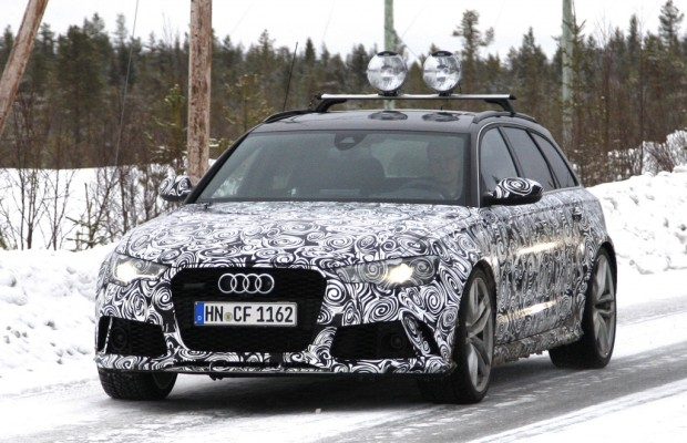 Erwischt: Erlkönig Audi A6 + RS 6 Facelift