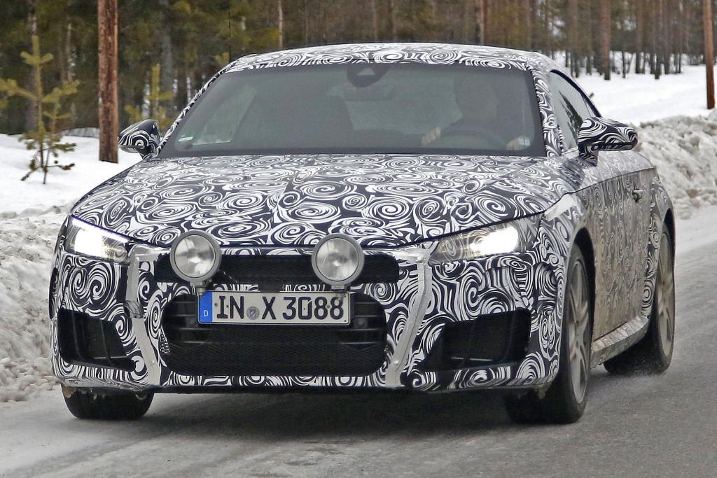Erwischt: Erlkönig Audi TT-S