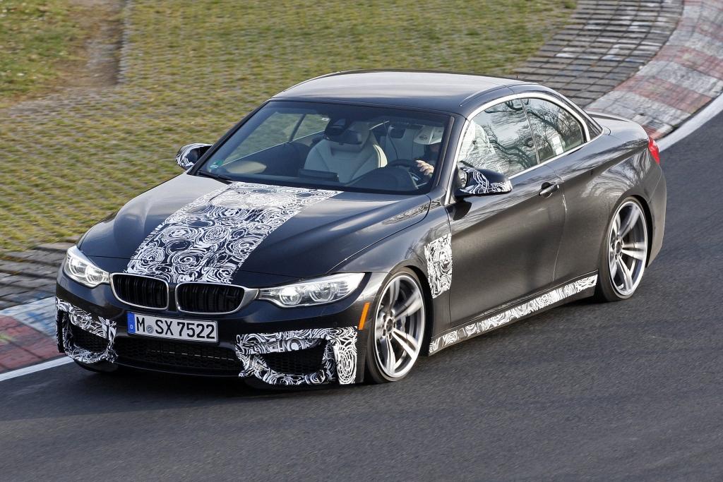Erwischt: Erlkönig BMW M4 Cabrio