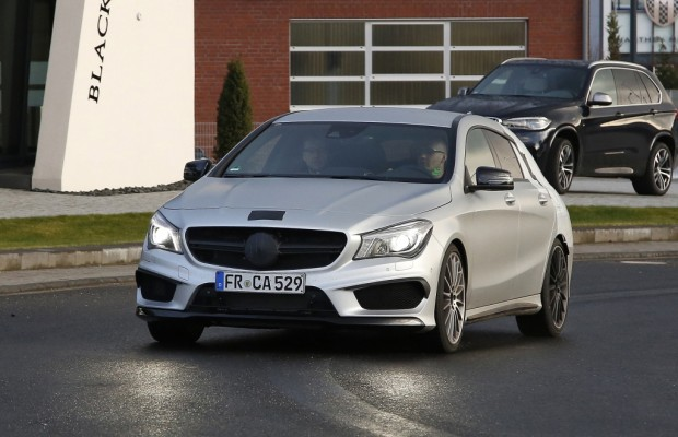 Erwischt: Erlkönig Mercedes CLA 45 AMG Shooting Break