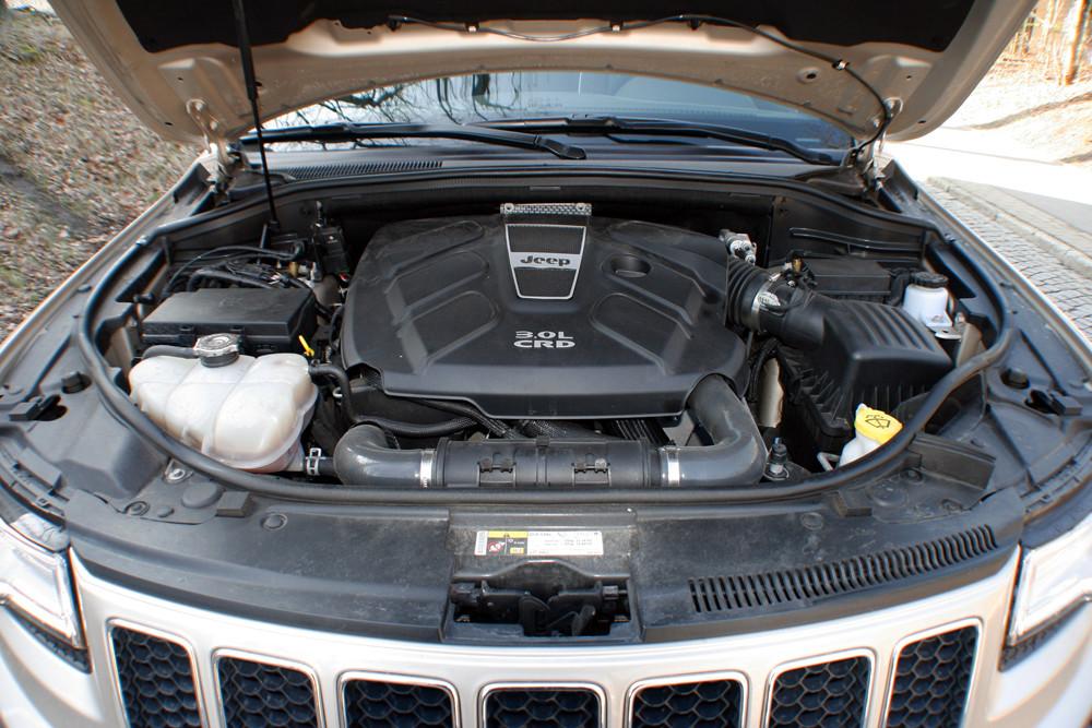 Fahrbericht Jeep Grand Cherokee Overland: Viel dran und drin