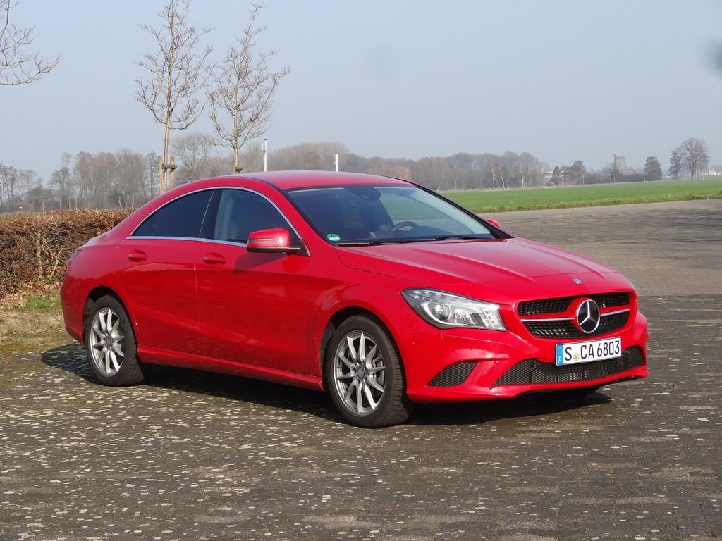Fahrbericht Mercedes-Benz CLA 200: Schöner flitzen
