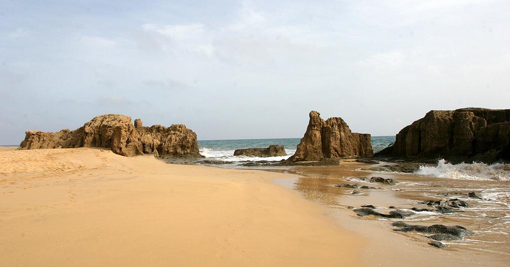 Feiner Sandstrand auf Porto Santo, übersetzt