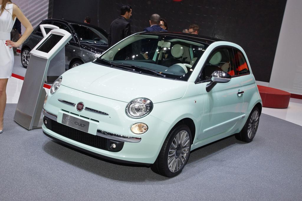 Fiat 500 Cult in Genf