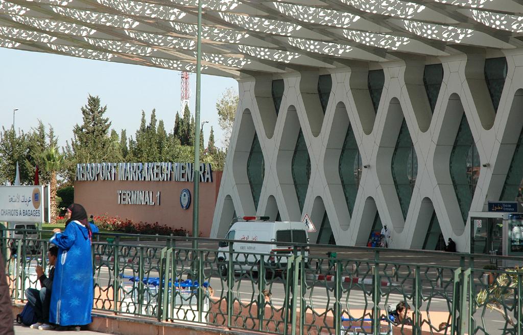 Flughafen Marrakesch: Mit der Nagelschere könnte es bei der Kontrolle Probleme geben.