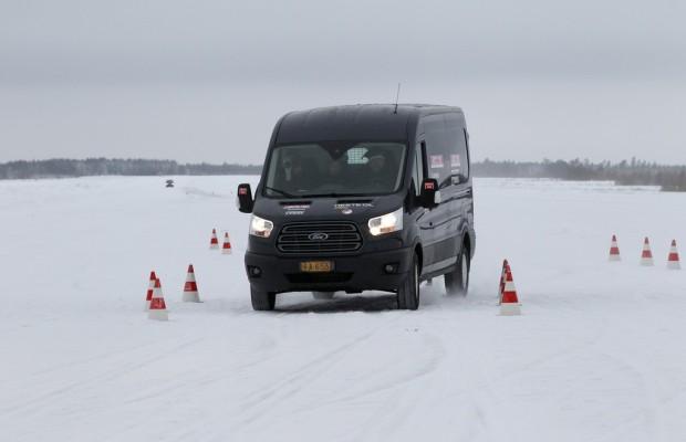 Ford Transit und Transit Connect gewinnen eisigen Test