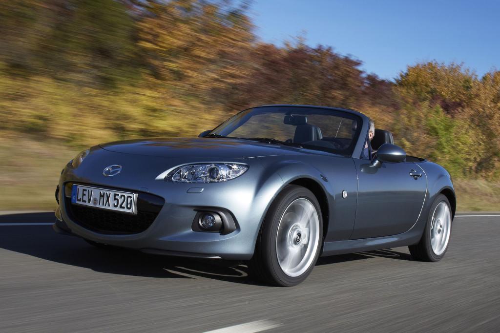 Foto © Mazda - Als klassischer Roadster ist ab 22.790 Euro bereits der Mazda MX-5 erhältlich