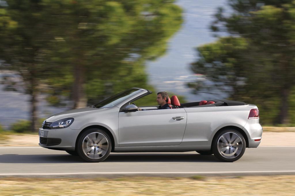 Foto © VW - Der Golf kostet in der Oben-Ohne-Variante ab 24.175 Euro