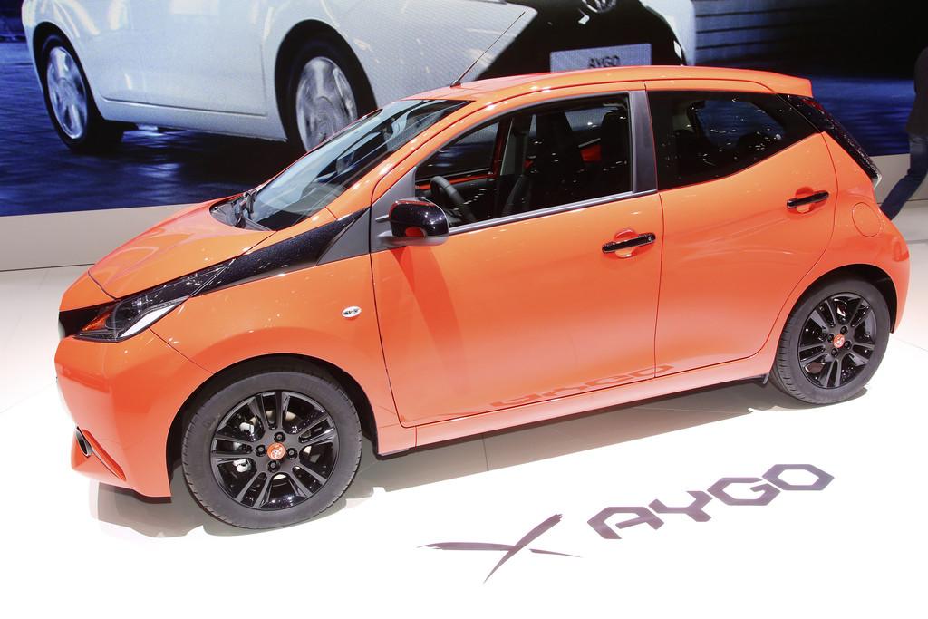 Genf 2014: Der Toyota Aygo macht uns ein X vor