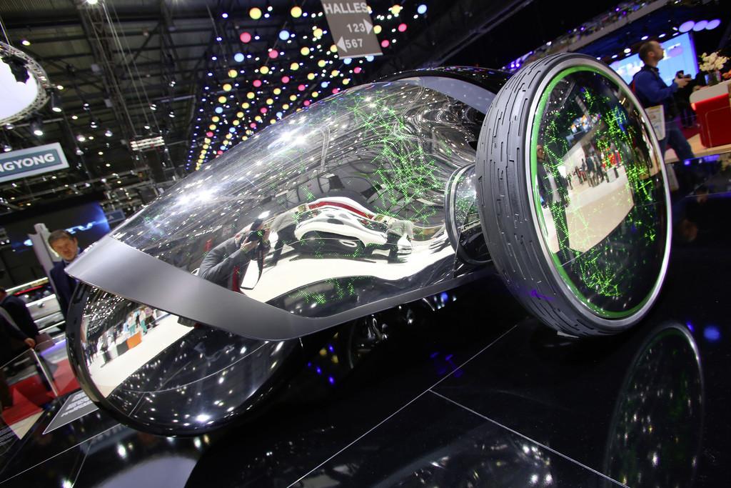Genf 2014: Der Toyota FV2 kommt aus der Zukunft
