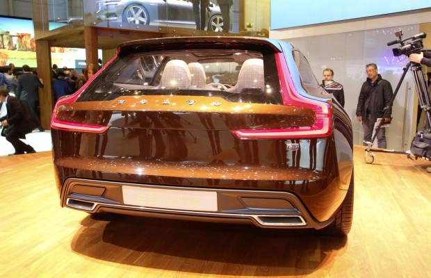 Genf 2014: Der Volvo Concept Estate tippt, wischt und kachelt