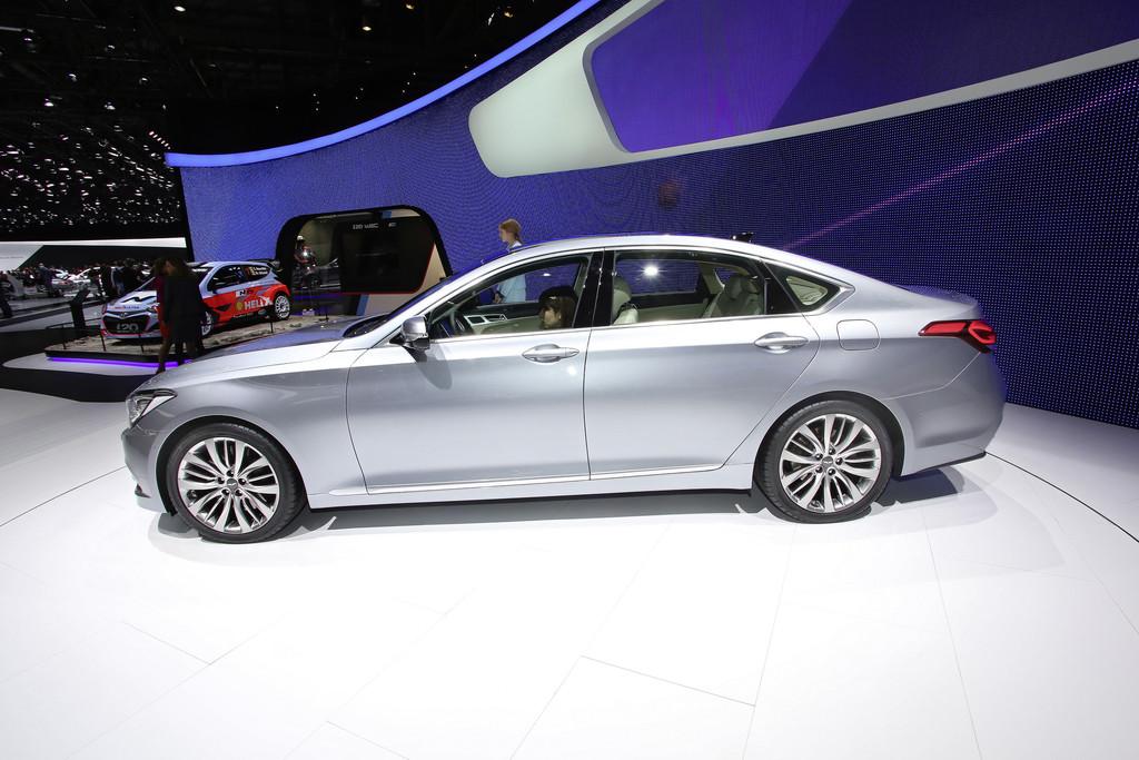 Genf 2014: Hyundai klopft in der Oberklasse an