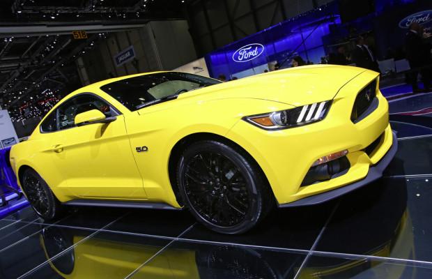 Genf 2014: In Europa darf der Ford Mustang auch ecoboosten