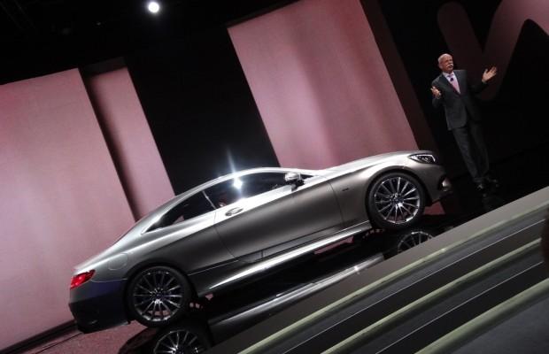 Genf 2014: Mercedes-Benz S-Klasse Coupé