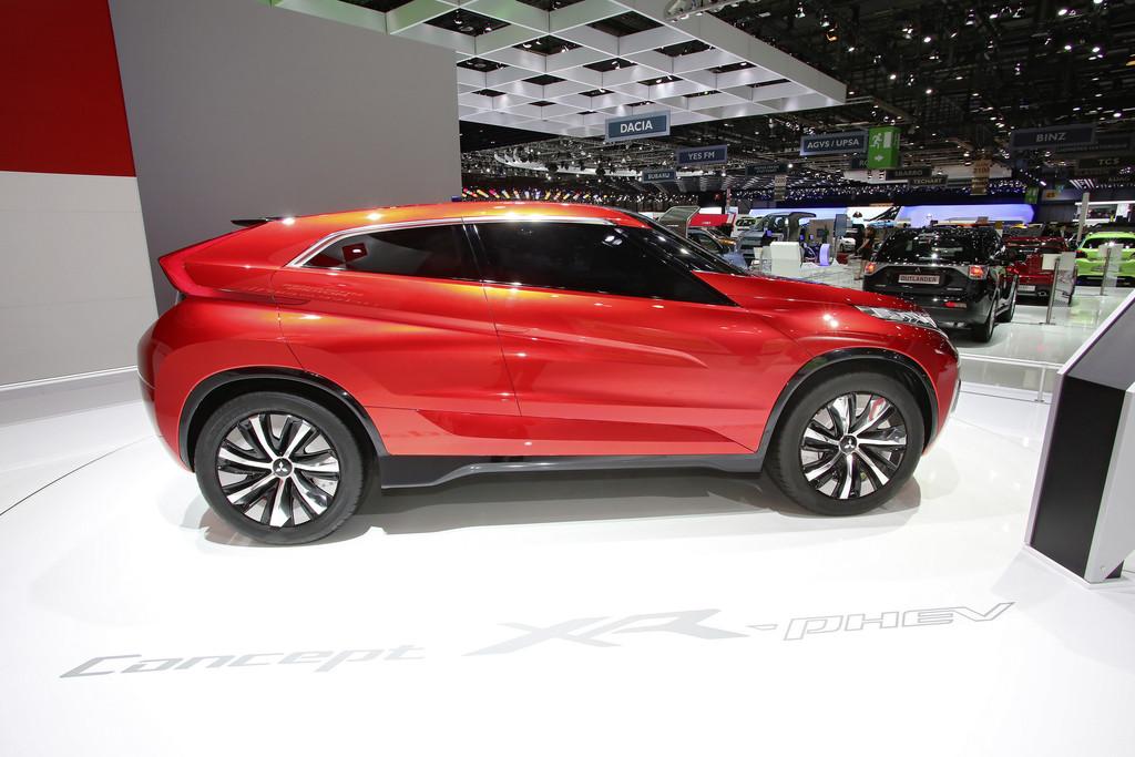 Genf 2014: Mitsubishi XR-PHEV erstmals in Europa