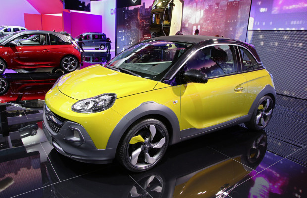 Genf 2014: Opel Adam Rocks