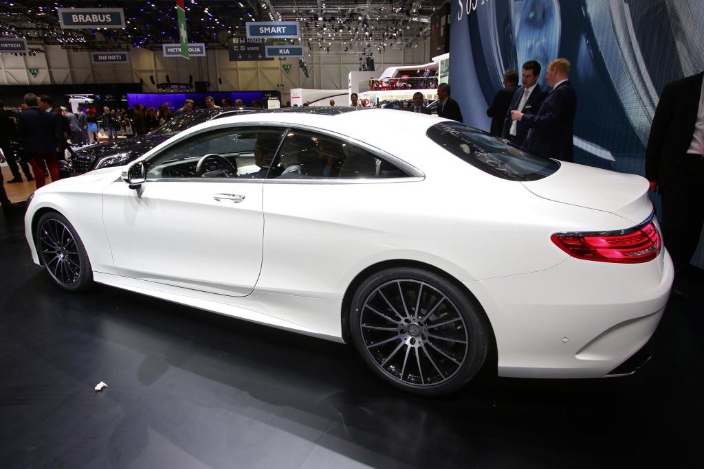 Genf 2014: S-Klasse Concept Coupé geht nahezu nahtlos in die Serie