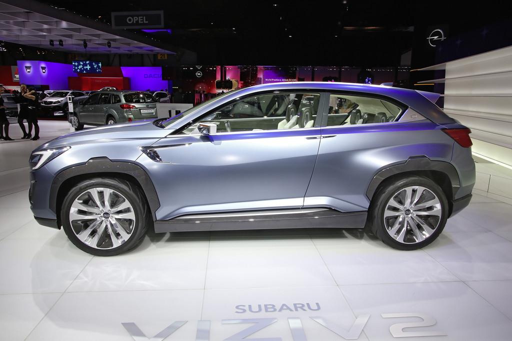 Genf 2014: Subaru richtet sich mit dem Viziv 2 Concept aus