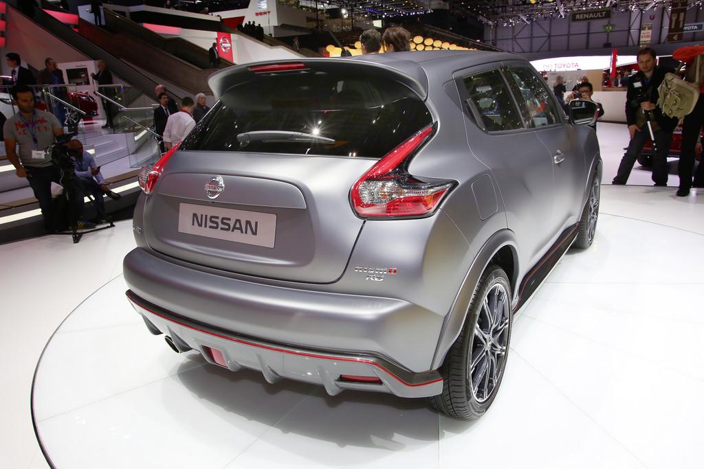 Genf 2014: Viel Tamtam um den Nissan Juke