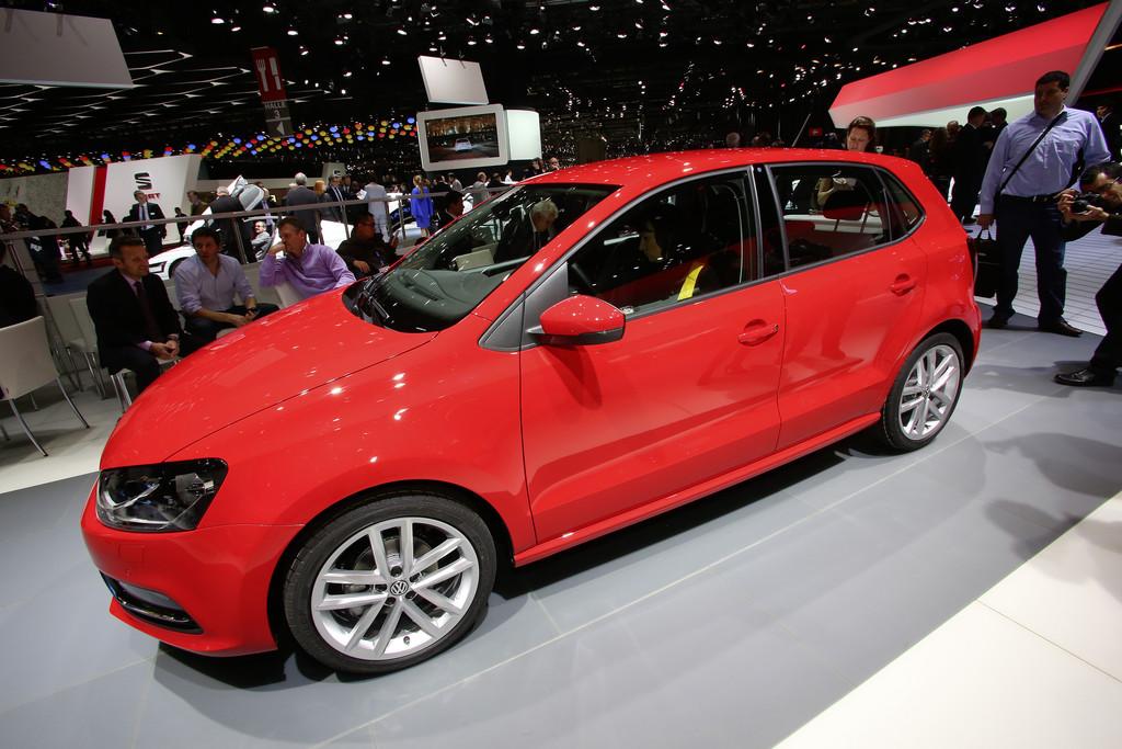 Genf 2014:  Volkswagen frischt den Polo auf