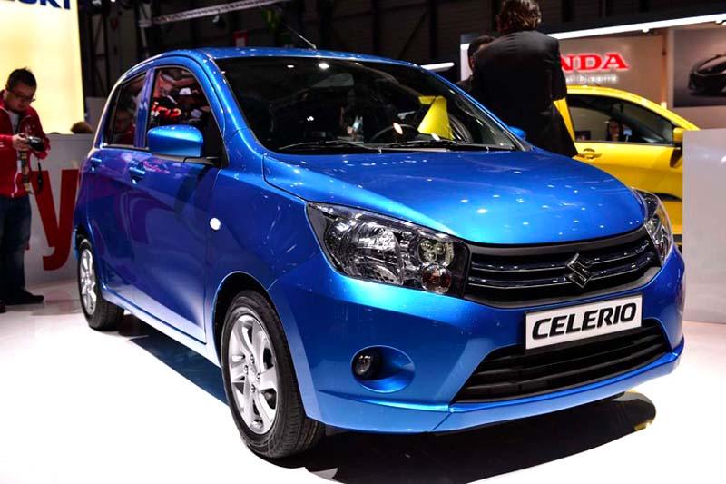 Gerade in Genf vorgestellt: Suzukis neuer Celerio.