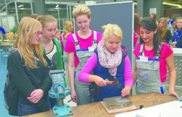 Girls' Day: Volkswagen erwartet 1570 Mädchen