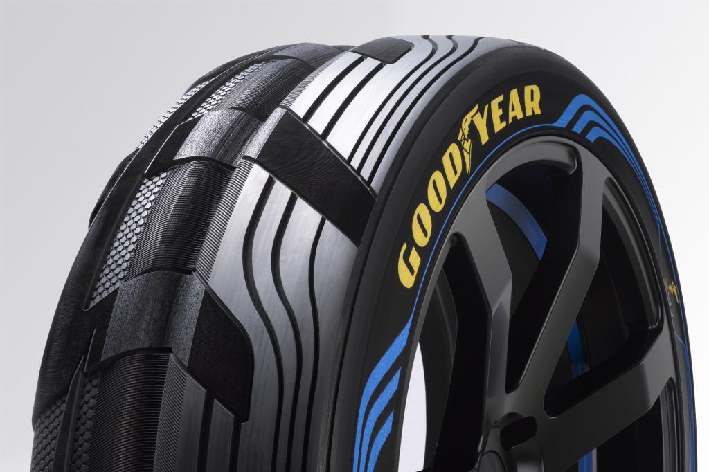 Goodyear-Konzeptreifen - Doppelt hält besser und verbraucht weniger