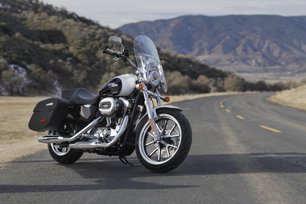 Harley-Davidson Superlow 1200 T: Gezielt für kleinere Biker