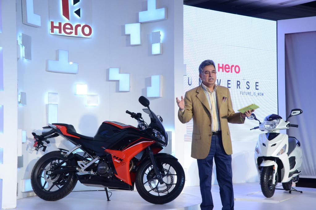 Hero und EBR: Neue Zweirad-Konzepte auch mit Dieselmotor