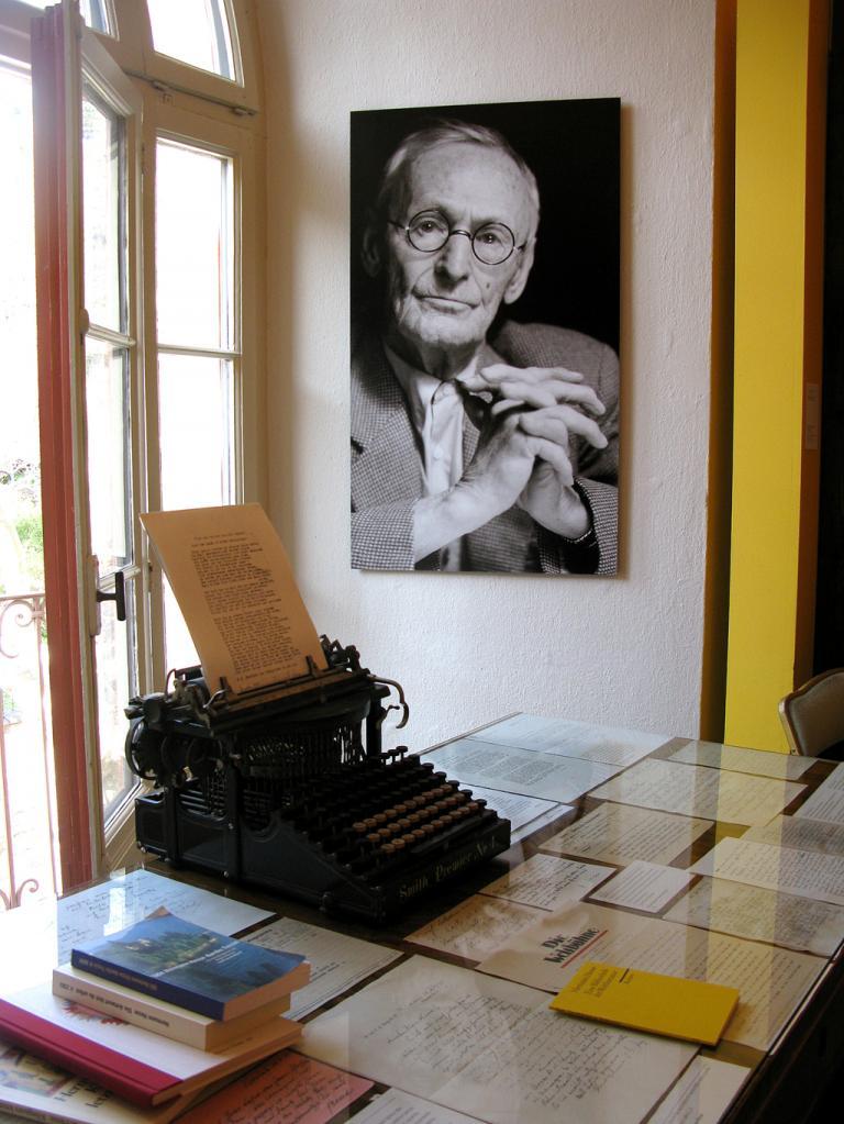 Hesse-Museum in Montagnola.