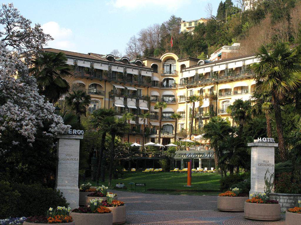 Hotels dieser Welt: Das Grand Hotel Villa Castagnola war einst eine Adelsresidenz