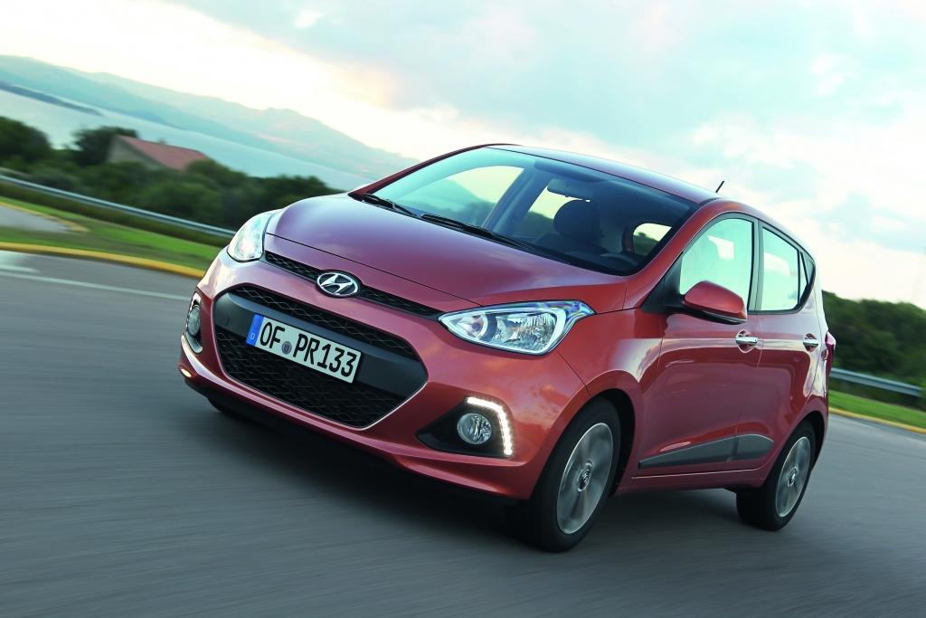 Hyundai i10 jetzt auch mit LPG