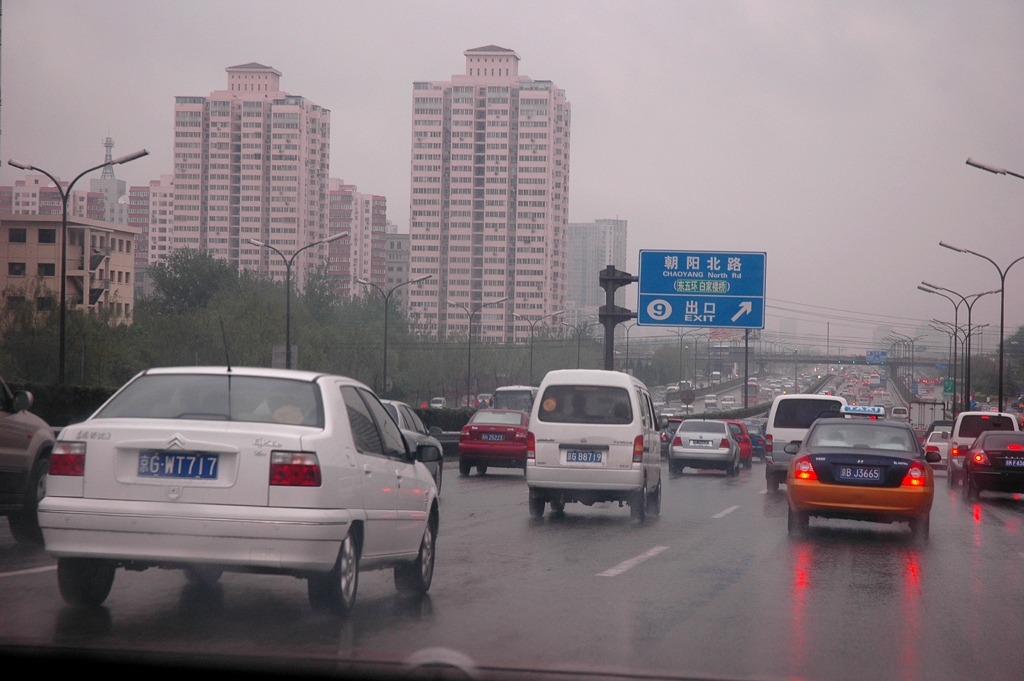Immer noch im Fokus: China, hier Pekinger Autobahnszene. Foto: Koch/Quelle: