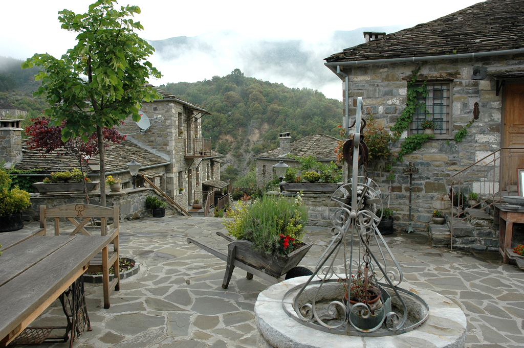 In den griechischen Epirus-Dörfern, wo auch die Geschichte von Eléni spielt