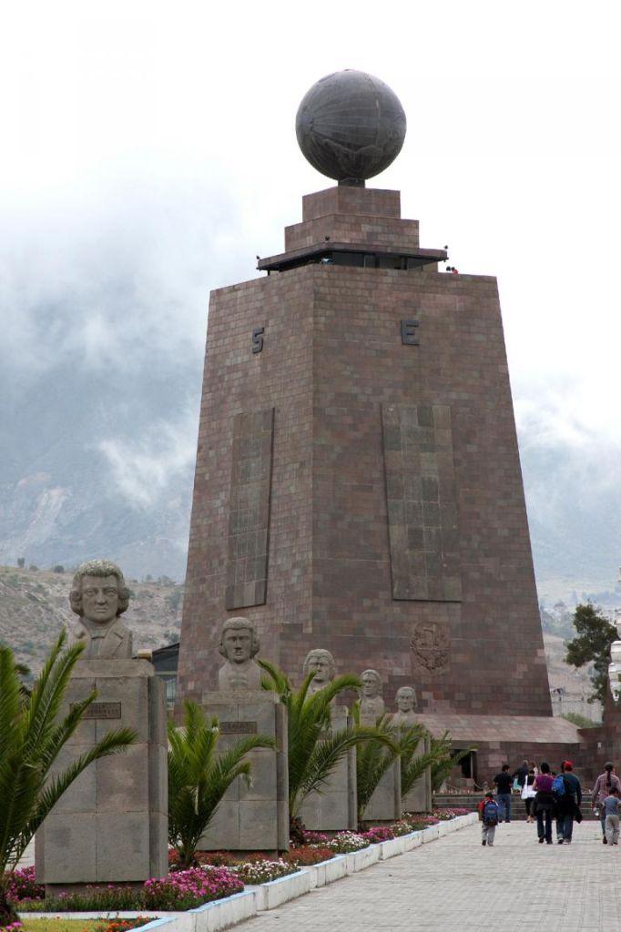In diesem 30 Meter hohen Monument ist ein Museum untergebracht.